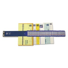 Heavy-Duty Indexed Sorter, 31 Dividers, Alpha/Numeric/Months/Dates/Days, Letter-Size, Blue Frame