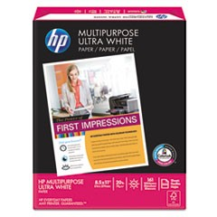 Multipurpose Paper, 96 Brightness, 20 lb, 8 1/2 x 11, White, 500 Sheets/Ream