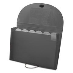 Specialty Expanding Files, Letter, 7-Pocket, Smoke