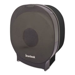 Single Jumbo Toilet Tissue Dispenser, 1 Jumbo Roll, Smoke Black,5.562x10x11 7/8