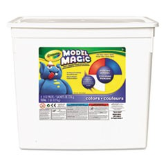 1Model Magic Modeling Compound, 8 oz each Blue/Red/White/Yellow, 2lbs.