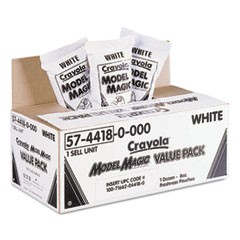 1Model Magic Modeling Compound, 8 oz, White, 6 lbs.