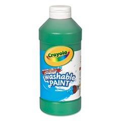 Washable Paint, Green, 16 oz