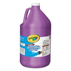 Washable Paint, Violet, 1 gal