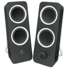 Z200 Multimedia 2.0 Stereo Speakers, Black