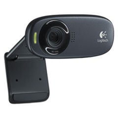 C310 HD Webcam, 1280 pixels x 720 pixels, 1 Mpixel, Black