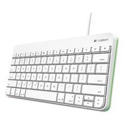 1Wired Keyboard for iPad, Apple Lightning, White