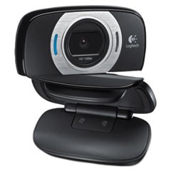 C615 HD Webcam, 1920 pixels x 1080 pixels, 2 Mpixels, Black