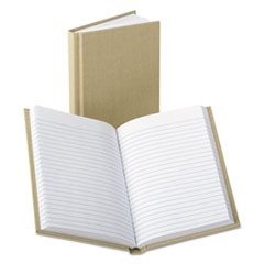 Handy Size Bound Memo Book, Ruled, 4 1/8 x 7, White, 96 Sheets