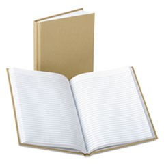 Handy Size Bound Memo Book, Ruled, 9 x 5-7/8, White, 96 Sheets