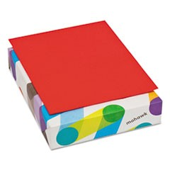 BriteHue Multipurpose Colored Paper, 24lb, 8 1/2 x 11, Red, 500 Sheets/Ream
