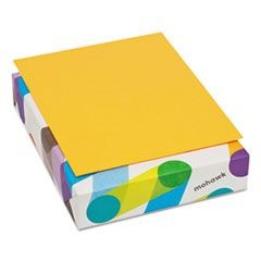 BriteHue Multipurpose Colored Paper, 20lb, 8 1/2 x 11, Ultra Orange, 500 Shts/Rm