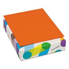 BriteHue Multipurpose Colored Paper, 24lb, 8 1/2 x 11, Orange, 500 Sheets/Ream
