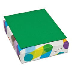 BriteHue Multipurpose Colored Paper, 24lb, 8 1/2 x 11, Green, 500 Sheets/Ream