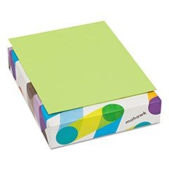 BriteHue Multipurpose Colored Paper, 20lb, 8 1/2 x 11, Ultra Lime, 500 Shts/Rm