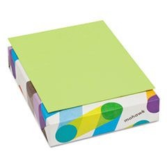 BriteHue Multipurpose Colored Paper, 24lb, 8 1/2 x 11, Ultra Lime, 500 Shts/Rm