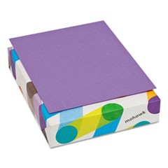 BriteHue Multipurpose Colored Paper, 24lb, 8 1/2 x 11, Violet, 500 Sheets/Ream