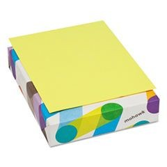 BriteHue Multipurpose Colored Paper, 20lb, 8 1/2 x 11, Ultra Lemon, 500 Shts/Rm