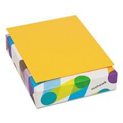 BriteHue Multipurpose Colored Paper, 24lb, 8 1/2 x 11, Ultra Orange, 500/Ream