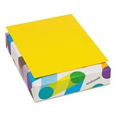 BriteHue Multipurpose Colored Paper, 24lb, 8 1/2 x 11, Yellow, 500 Sheets/Ream