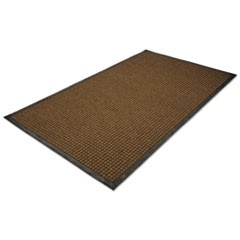WaterGuard Indoor/Outdoor Scraper Mat, 48 x 72, Brown