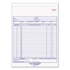 Purchase Order Book, 8 1/2 x 11, Letter, Two-Part Carbonless, 50 Sets/Book