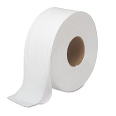 "1JRT Bath Tissue, Jumbo, Septic Safe, 2-Ply, White, 3.5"" x 1000 ft, 12 Rolls/Carton"