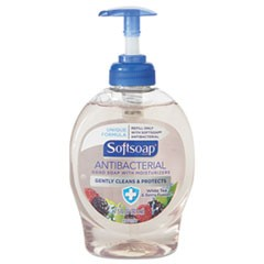 Antibacterial Hand Soap, White Tea & Berry Fusion, 7.5oz Pump Bottle
