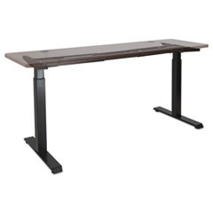 "2-Stage Electric Adjustable Table Base, 27 1/4"" to 47 1/4"" High, Black"