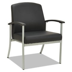 metaLounge Series Guest Chair, 25 5/8 x 26 3/8 x 34 5/8, Black