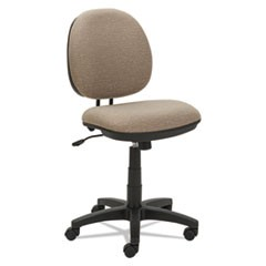 Alera Interval Series Swivel/Tilt Task Chair, Supports up to 275 lbs., Sandstone Tan Seat/Sandstone Tan Back, Black Base