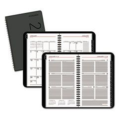 Contemporary Weekly/Monthly Planner, Weekly: Block, 4 7/8 x 8, White, 2016