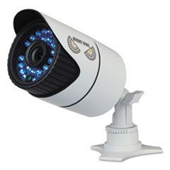 Hi-Resolution 900 TVL Security Camera, Audio Enabled, with 100 ft. Night Vision