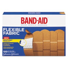 "Flexible Fabric Adhesive Bandages, 1"" x 3"", 100/Box"