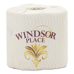 Windsor Place Premium Bathroom Tissue, 2-Ply, 4.5 x 3.5, 500/Rl, 80 Rolls/CT