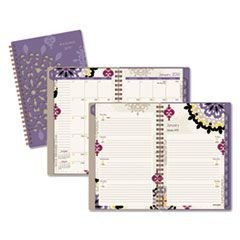 Vienna Weekly/Monthly Appointment Book, 4 7/8 x 8, Purple, 2016