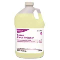Suma Block Whitener, 1 gal Bottle, 4/Carton