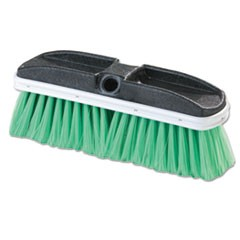 "Vehicle Brush, Nylex, Green Bristles, 10"", 2 1/2"" Bristles"