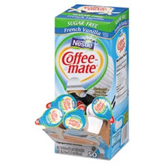 Sugar-Free French Vanilla Creamer, 0.375oz, 50/Box