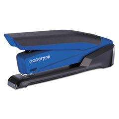 InPower Spring-Powered Desktop Stapler, 20-Sheet Capacity, Blue