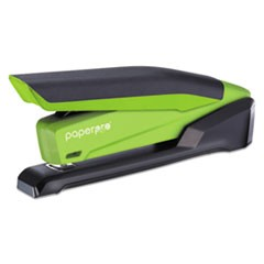 inPOWER 20 Stapler, 20-Sheet Capacity, Green/Black