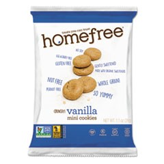 Gluten Free Vanilla Mini Cookies, 1.1 oz Pack, 30/Carton