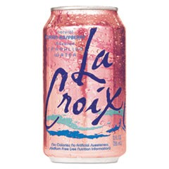 Sparkling Water, Cran Raspberry, 12 oz Can, 24/Carton
