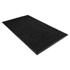 Platinum Series Indoor Wiper Mat, Nylon/Polypropylene, 36 x 60, Black