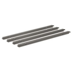 "1Single Cross Rails for 30"" and 36"" Lateral Files, Gray"