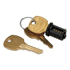 1Core Removable Lock Kit, Black