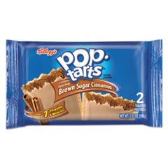 Pop Tarts, Frosted Brown Sugar Cinnamon, 3.52oz, 2/Pack, 6 Packs/Box