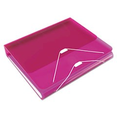 "DUO 2-in-1 Binder Organizer, 11 x 8 1/2, 1"" Capacity, Hot Pink"