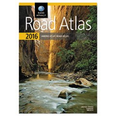Road Atlas, North America+Puerto Rico, Soft Cover
