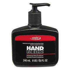HAND MEDIC Professional Skin Conditioner, 8 oz Pump Bottle, 6/Carton